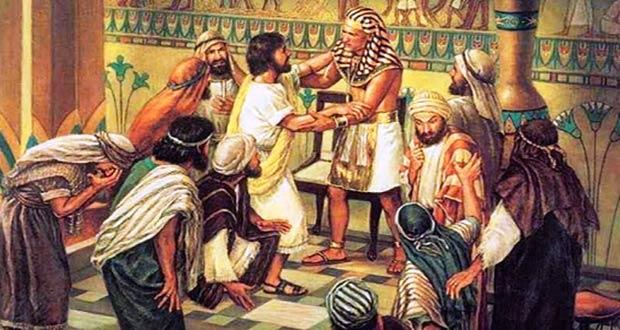 Моисей требует у фараона освободить плененных евреев