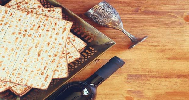 Традиционное праздничное еврейское блюдо - Маца