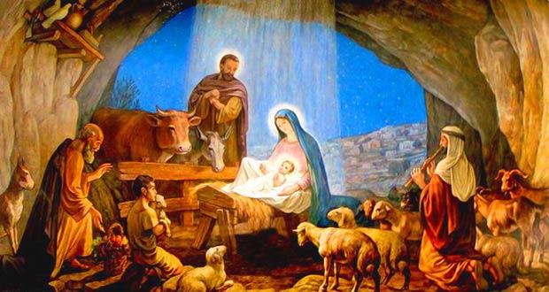 Рождение Иисуса Христа в хлеву