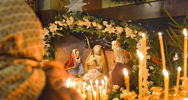 церковные рождественские свечи
