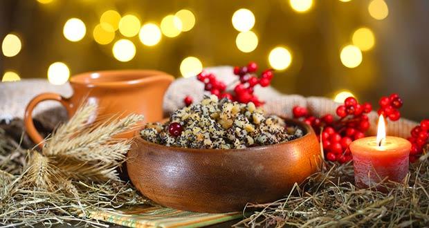традиционная еда в канун Рождества - кутья