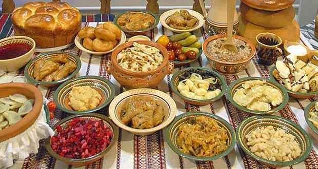 Праздничные блюда на Щедрый вечер
