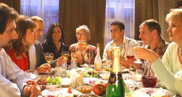 Семейное праздничное застолье