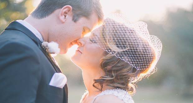 Красивая свадебная пара