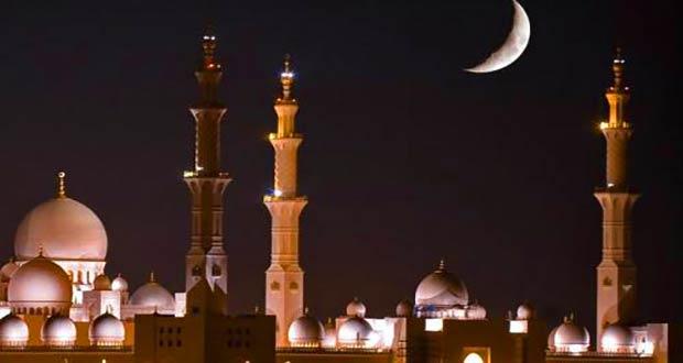 Мечеть ночью: в ней проходит особая предпраздничная молитва