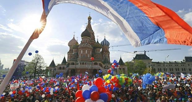 Митинги и концерты в честь праздника