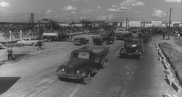 Автомобили времён СССР
