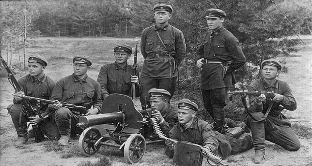 Фото: солдаты Красной армии