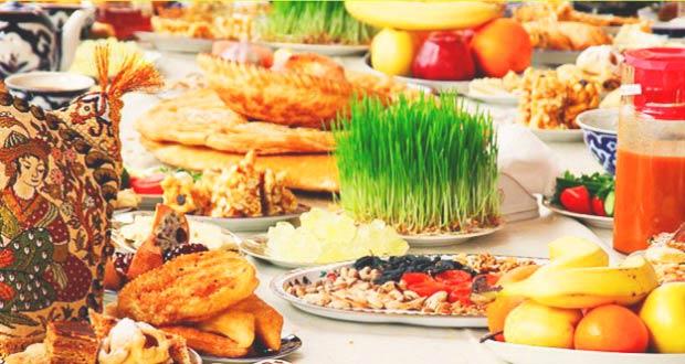 Традиционные блюда Навруза