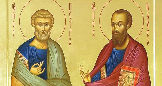 Святые апостолы Пётр и Павел