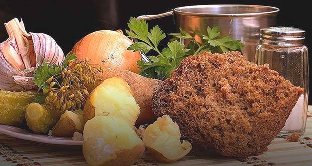 Традиционная постная еда у православных верующих