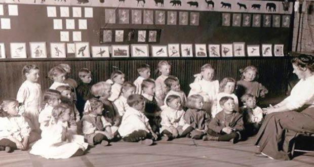 Первый детсад в России