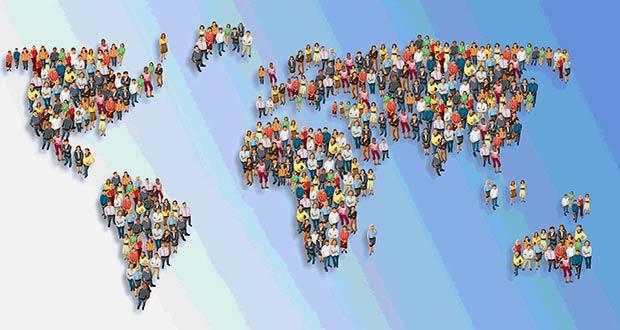 Люди по всем континентам нашей планеты