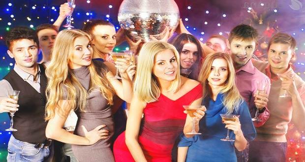 Новогоднее веселье в клубе