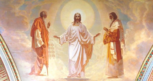 Иисус Христос со своими учениками