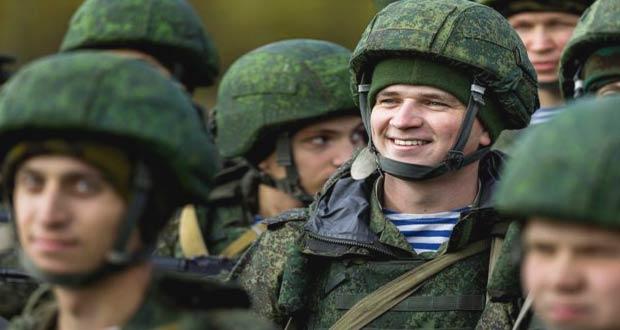 Российские военные контрактники