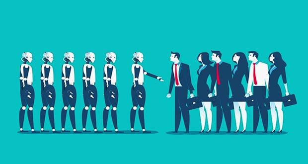 Роботы забирают работу у людей