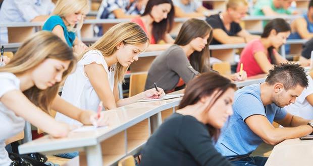 Студенты на лекции в университете