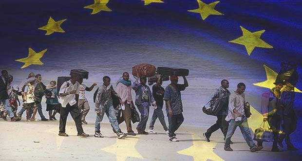 Африканские мигранты в Европе