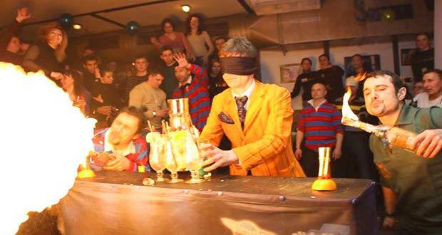 Празднование первого Дня бармена в Киеве