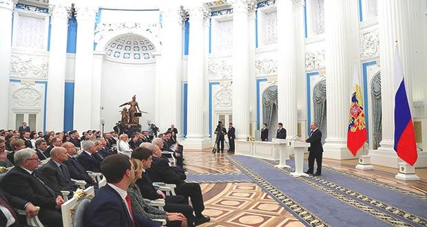 Президент РФ поздравляет ученых с их праздником