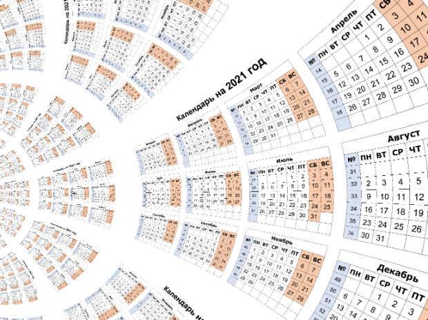 Составляем график отпусков на 2021 год по правилам
