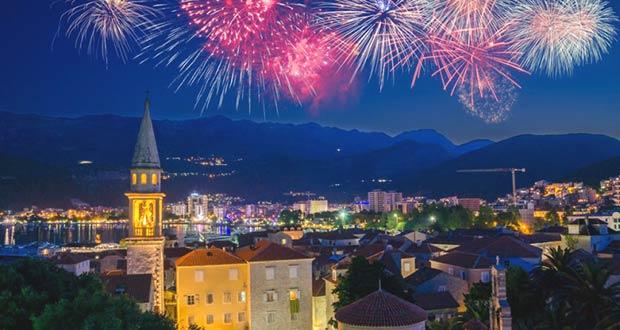 Салюты в Черногории