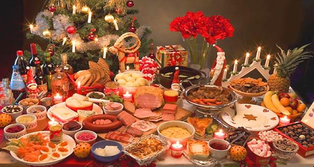 Разнообразие новогодних блюд