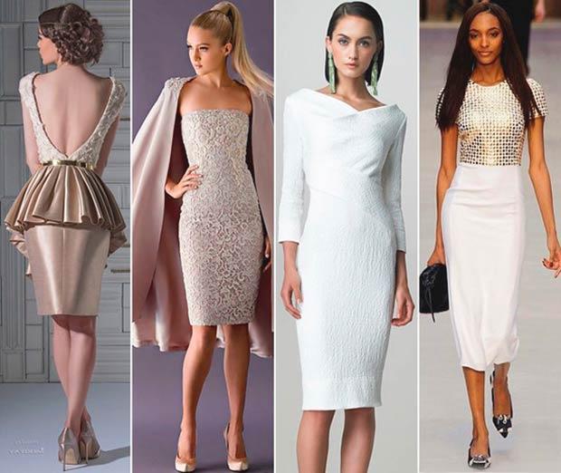 Красивые новогодние платья 2020