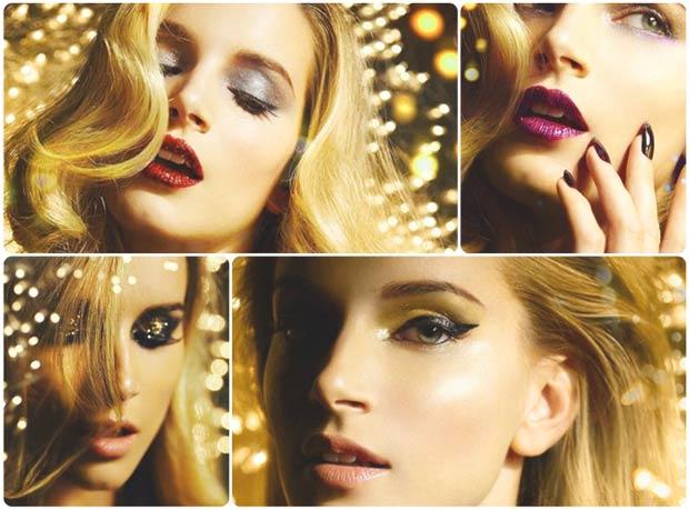 Красивый макияж к Новому год 2020