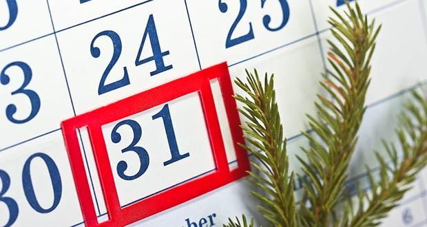 Сокращенный день 31 декабря 2020 года