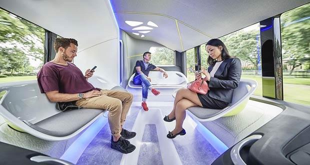 Автобус будущего на автопилоте