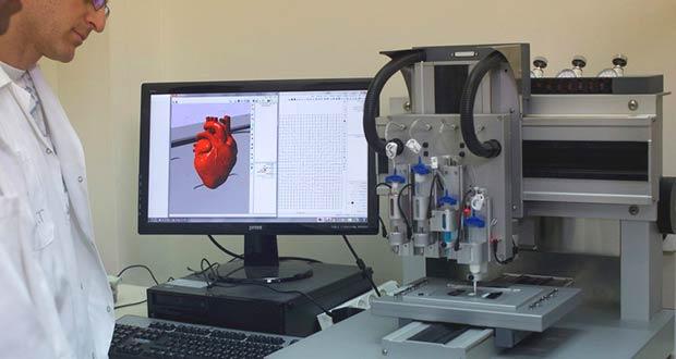 Искусственное сердце с помощью 3D принтера