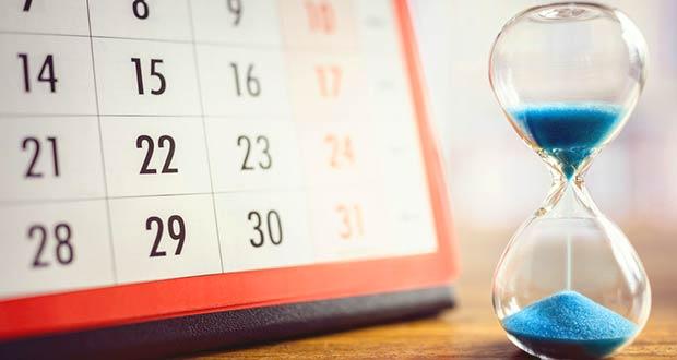 Календарь отпусков и песочные часы