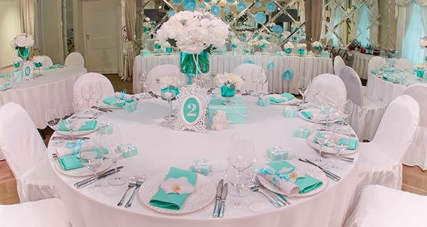 Правильная сервировка стола на свадьбу в 2020 году