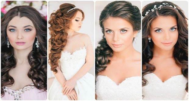 Свадебные прически 2020 для длинных волос