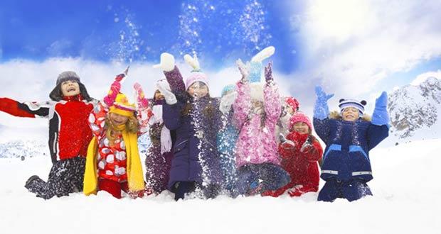 Дети на зимних каникулах 2019-2020 учебного года