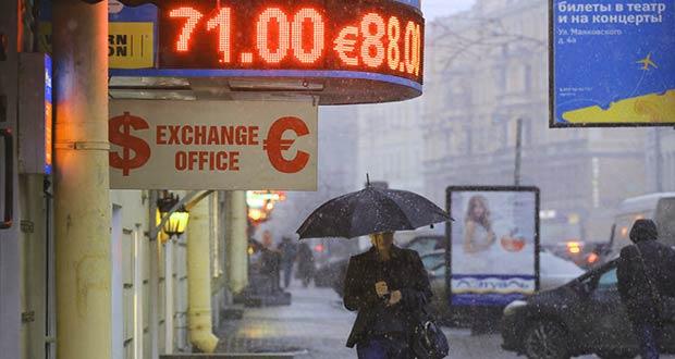 Негативные новости о стоимости рубля