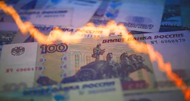 График девальвации российской валюты