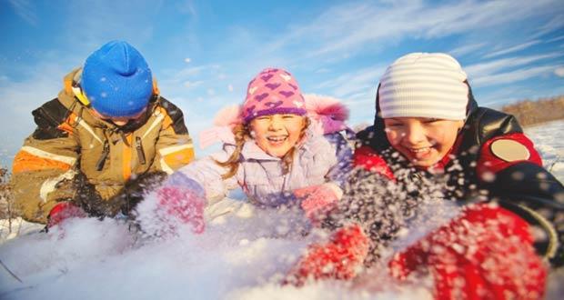Первоклассники на дополнительных каникулах в феврале