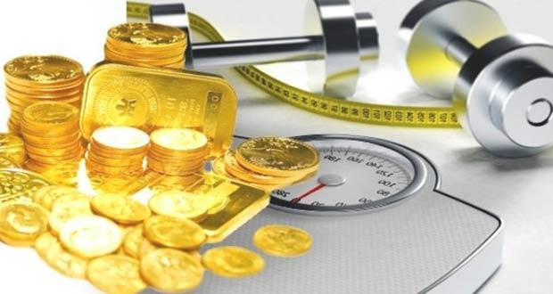 Монеты и золотые слитки