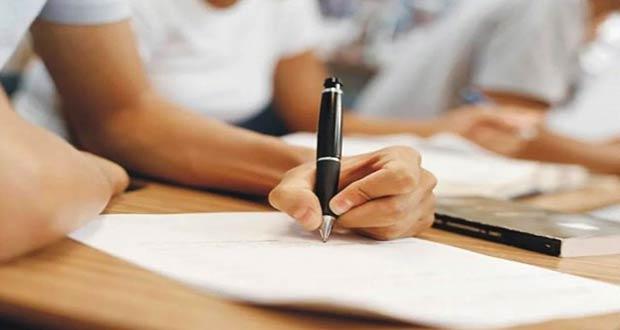 Написание учениками 11 классов итогового изложения