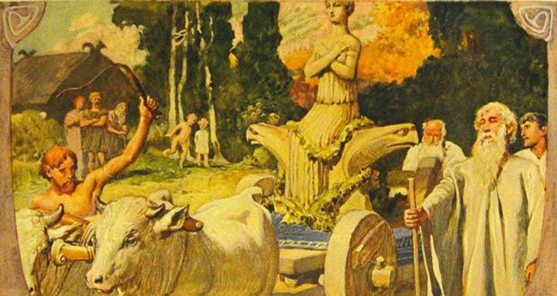 Празднование данного дня кельтами