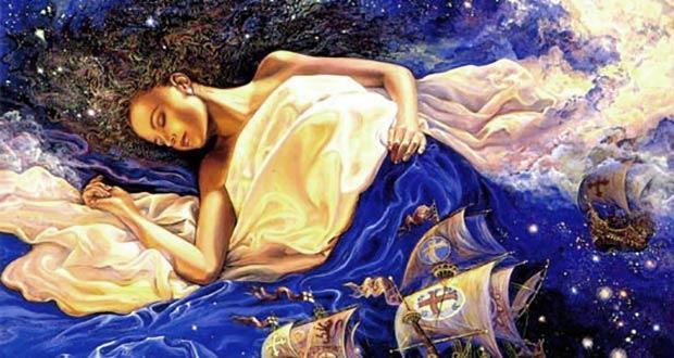В рождественскую ночь девушке снится суженный