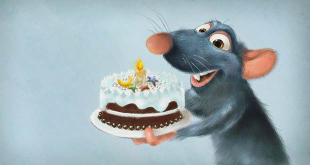 Год Крысы 2020: новогодний торт
