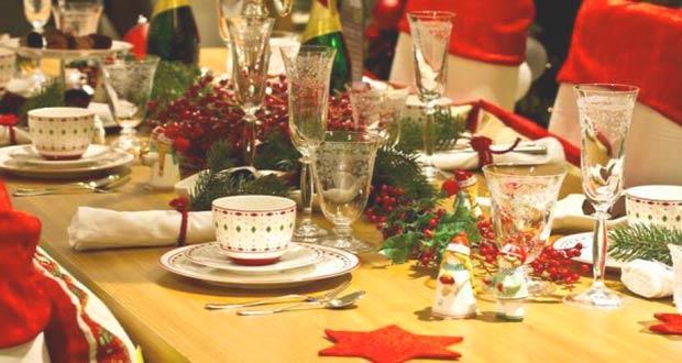 Красивая сервировка новогоднего стола на 2020 год Крысы