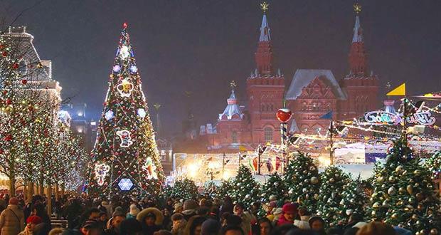Новый 2021 год в Москве: варианты отдыха