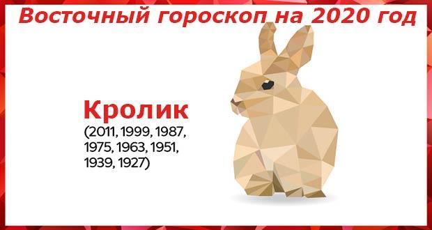 Гороскоп на 2020 год для Кролика (Кота): женщины и мужчины