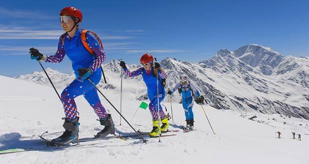 Новый олимпийский вид спорта: ски альпинизм