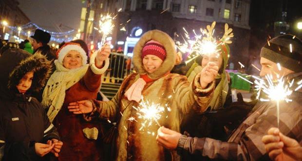 Встречаем и отмечаем новогоднюю ночь 2020 на улице